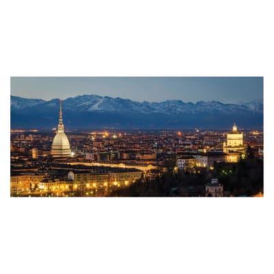 Pannello decorativo Torino piazza San Carlo 210x100 cm