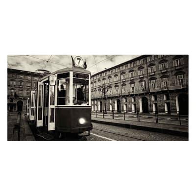 Pannello decorativo Torino tram 210x100 cm