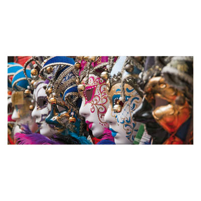 Pannello decorativo Venezia Carnevale 210x100 cm
