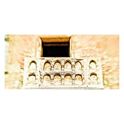 Pannello decorativo Verona Romeo e Giulietta 210x100 cm