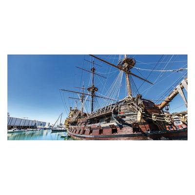 Pannello decorativo Genova porto 210x100 cm