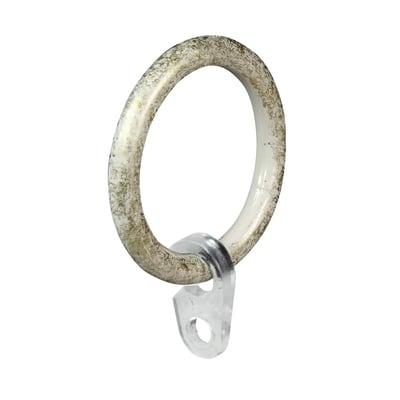 Anelli Ø20mm Nuvole in metallo avorio oro cromato, 8 pz  INSPIRE