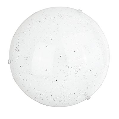 Plafoniera Scinty bianco, in vetro, diam. 30 , IP20