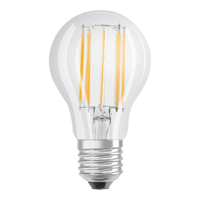 Lampadina Filamento LED E27 goccia bianco caldo 11W = 1420LM (equiv 94W) 320° OSRAM