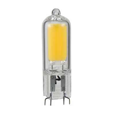 Lampadina LED G9 bulbo bianco caldo 2W = 200LM (equiv 20W) 360° LEXMAN