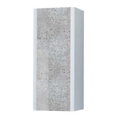 Colonna Elegance L 40 x P 25 x H 100 cm bianco