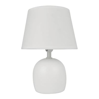 Lampada da comodino Shabby Poki bianco , in ceramica, INSPIRE
