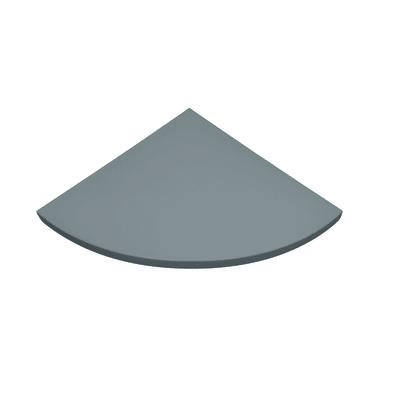 Mensola Spaceo L 35 x P 35 cm, Sp 1.8 cm grigio