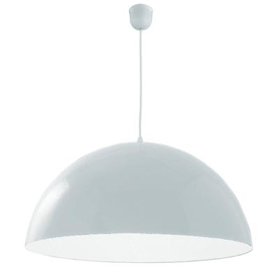 Lampadario Cupola bianco, in metallo, diam. 40 cm, E27 MAX60W IP20 LUMICOM