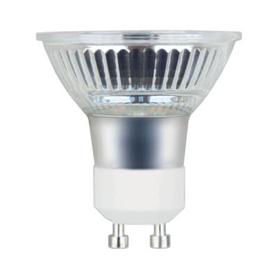 Lampadina LED, GU10, Faretto, Trasparente, Luce calda, 5.3W=460LM (equiv 50 W), 100° , LEXMAN
