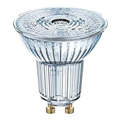 Lampadina LED, GU10, Faretto, Trasparente, Luce naturale, 4W=350LM (equiv 50 W), 36° , OSRAM