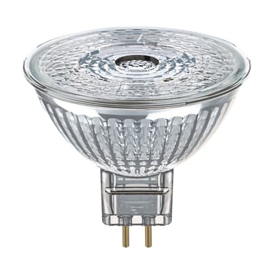Lampadina LED, GU5.3, Faretto, Trasparente, Luce naturale, 4.6W=350LM (equiv 35 W), 36° , OSRAM