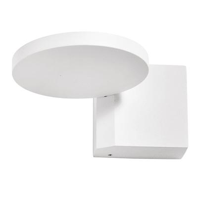 Applique Sply bianco, in alluminio, 15.5x13.2 cm, LED integrato 6W IP20