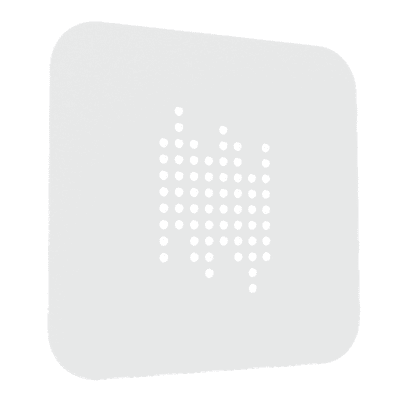 Plafoniera Tab quadro bianco, in vetro, 28x40 cm, LED integrato 18W IP20 LUMICOM