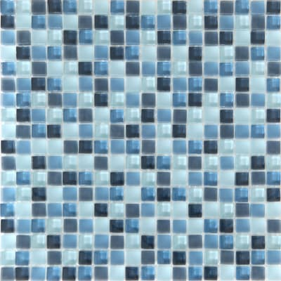 Mosaico Tonic H 30 x L 30 cm blu