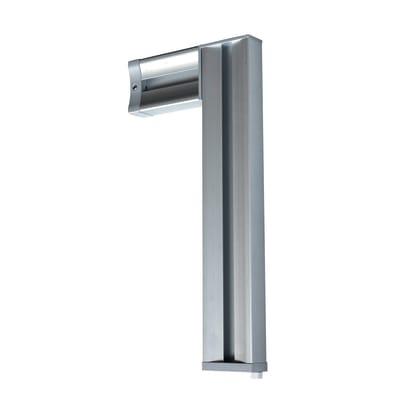 Montante in alluminio Logo L 5.5 x H 220 x Sp 25 cm grigio / argento cromato