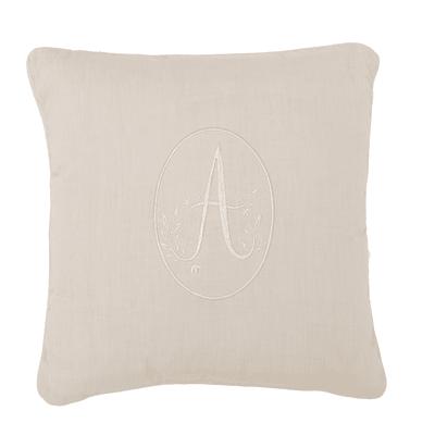 Cuscino Annabella ecru 40x40 cm