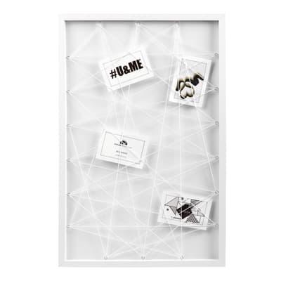 Cornice Diagonale per 9 fotografie 10 x 15  bianco
