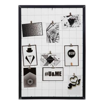 Cornice Diagonale per 9 fotografie 10 x 15  nero