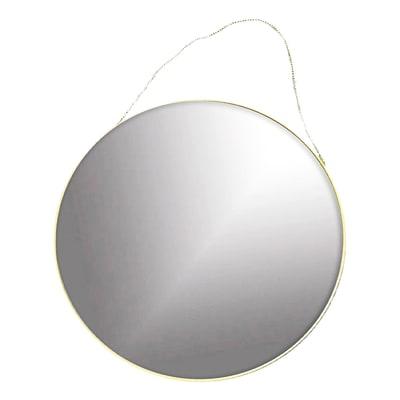 Specchio a parete tondo Sharon oro 50 cm