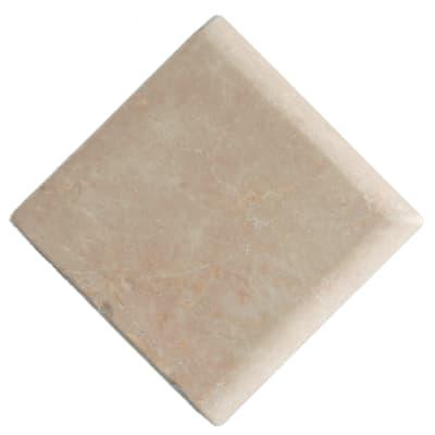 Listello Marmo avorio L 13 x H 13 cm