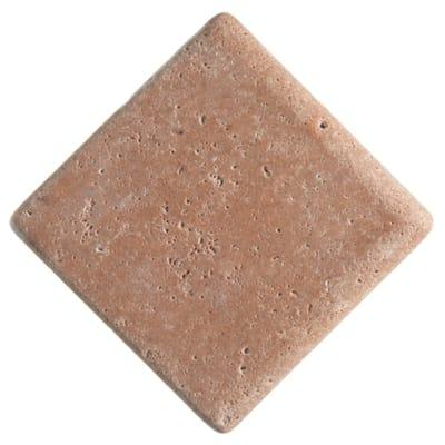 Listello Marmo L 13 x H 13 cm marrone