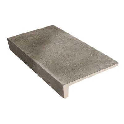 Gradino Doom H 15 x L 30 cm grigio / argento