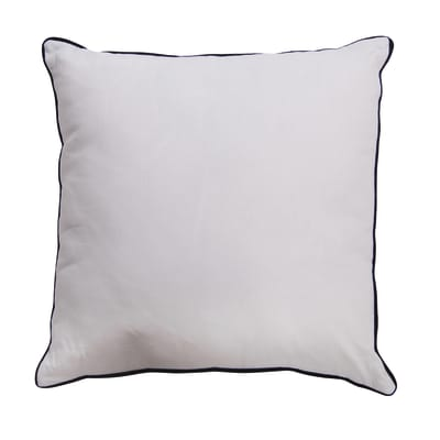 Cuscino INSPIRE Elis bianco 40x40 cm