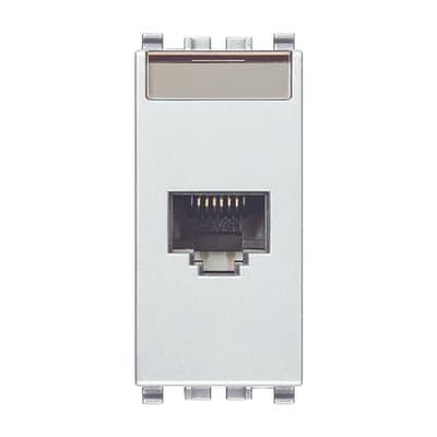 Connettore rj45 VIMAR Eikon bianco