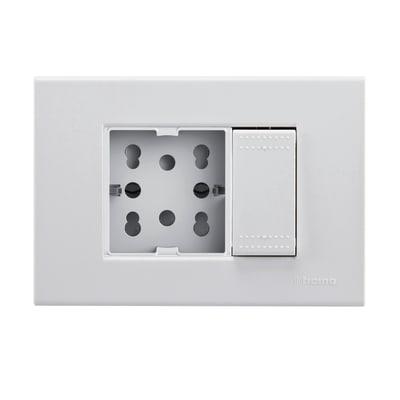 Presa 4BOX Living light 16 A bianco