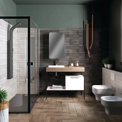Rubinetto per lavabo Hoti cromato lucido SENSEA