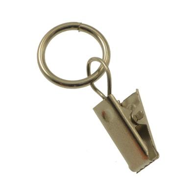 Pinza Niki in metallo cromo , 10 pezzi