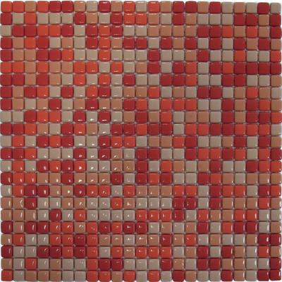 Mosaico Corallo H 30 x L 30 cm arancione/rosso