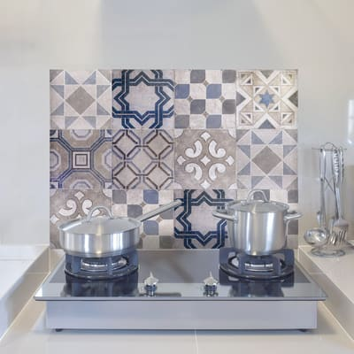Sticker Sticker Kitchen Panel Vintage Tiles 45x65 cm
