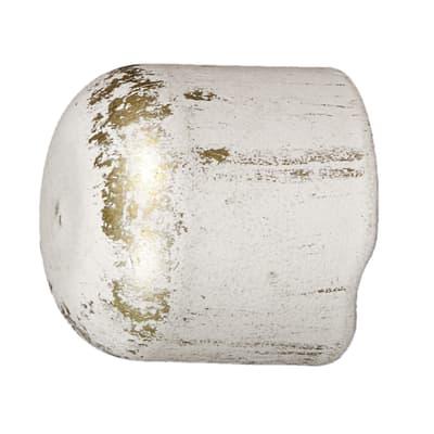 Finale per bastone Ø20mm Nuvole tappo in ferro verniciato INSPIRE Set di 2 pezzi