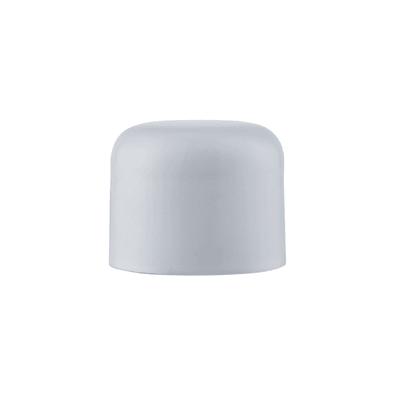 Finale per bastone Nilo tappo in metallo Ø20mm bianco lucido INSPIRE Set di 2 pezzi