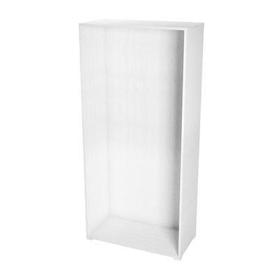 Struttura Spaceo L 90 x H 192 x P 45 cm bianco
