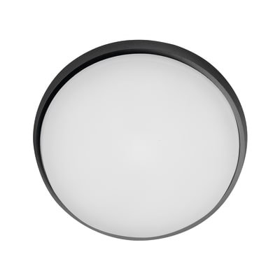Plafoniera Selene LED integrato in alluminio, antracite, 25W 2300LM IP54