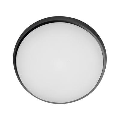Plafoniera Selene LED integrato in alluminio, antracite, 30W 2800LM IP54