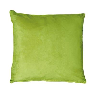 Cuscino per sedia o poltrona Suedine verde 50x50 cm Ø 2 cm