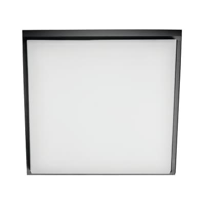 Plafoniera Smart LED integrato in alluminio, antracite, 25W 2300LM IP54
