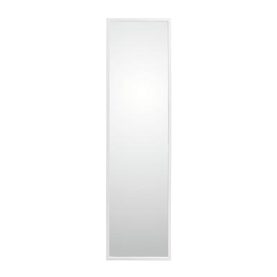 Specchio a parete rettangolare Cassettona bianco 50x150 cm