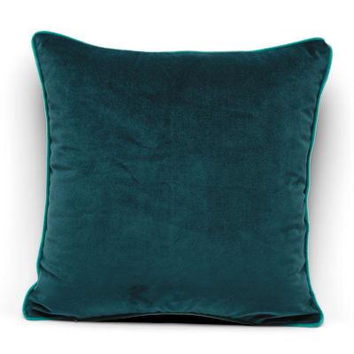 Cuscino Velluto verde 40x40 cm