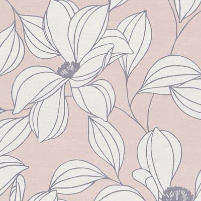 Carta da parati Fiore picca rosa cipria