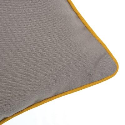 Cuscino Olmo tortora 40x40 cm