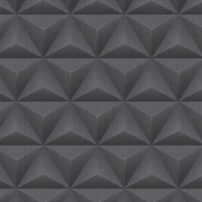 Carta da parati 3D nero