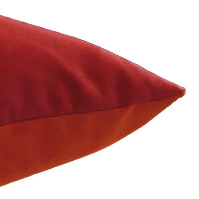 Cuscino grande Patchwork arancione 60x60 cm