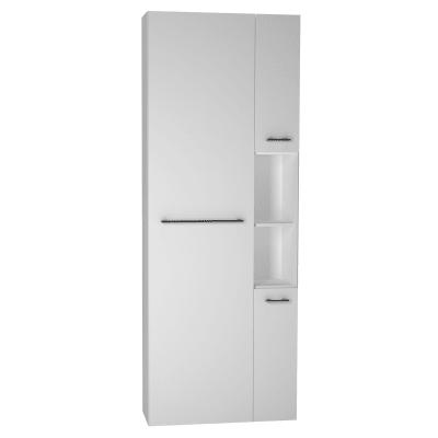 Colonna Remix 3 L 45 x P 33 x H 180 cm bianco lucido