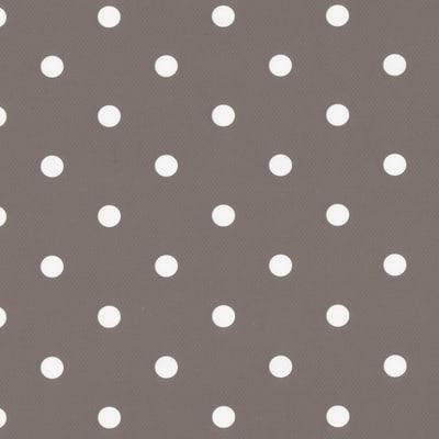 Pellicola Pois grigio / argento 0.45x2 m