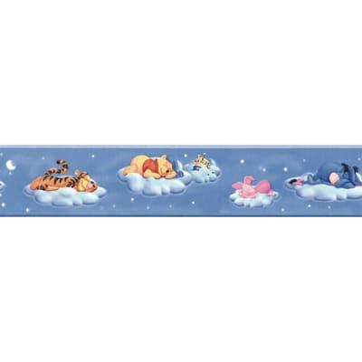 Bordo Winnie the pooh multicolore 5.3 cm x 5 m